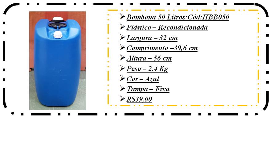 hbb 050 bombona 50 litros